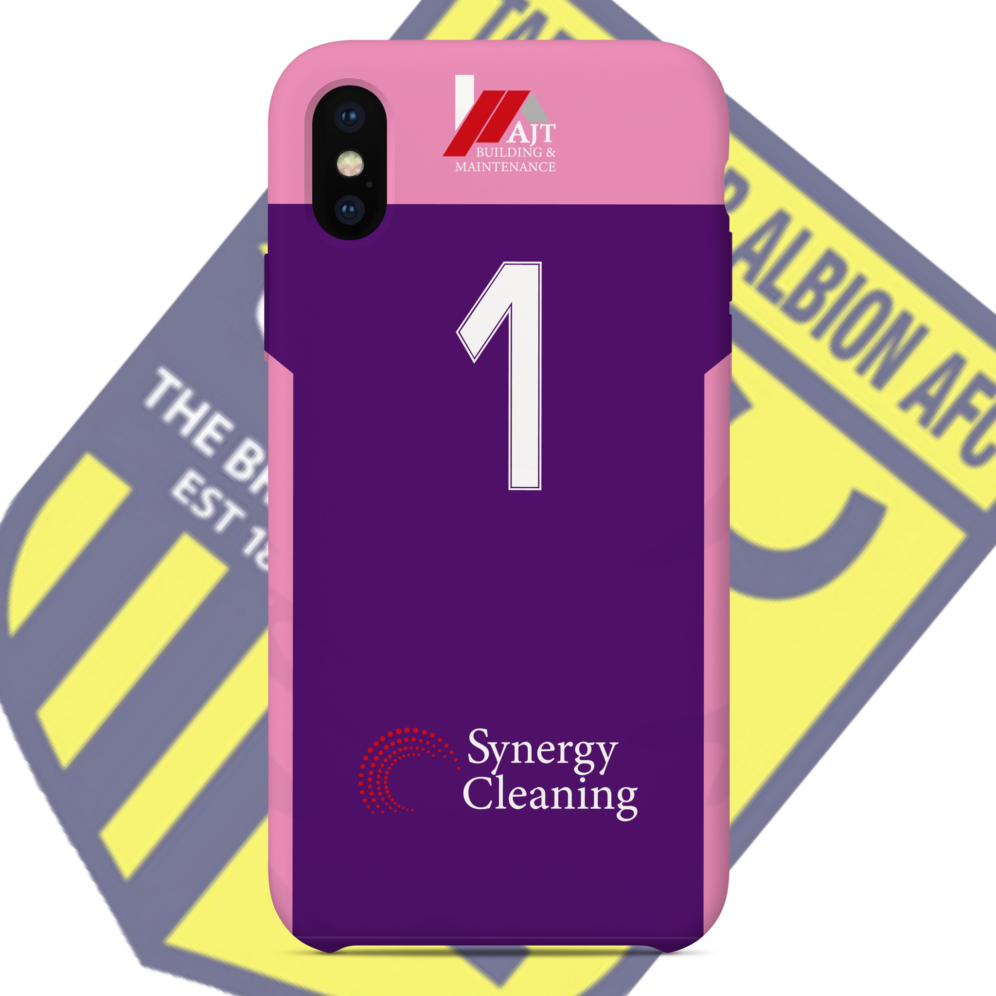 TADCASTER ALBION OFFICIAL PHONE CASE AWAY GK