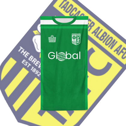 TADCASTER ALBION OFFICIAL BEACH TOWEL HOME GK - TheRetroHut