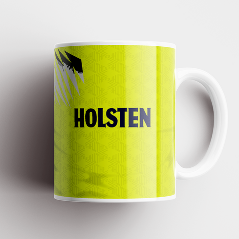 Tottenham Hotspur 1992 Away Ceramic Mug - TheRetroHut