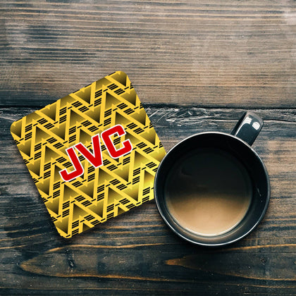 ARSENAL INSPIRED COASTER 1991 AWAY - TheRetroHut