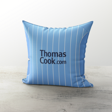 Manchester City 2007 Home Cushion - TheRetroHut