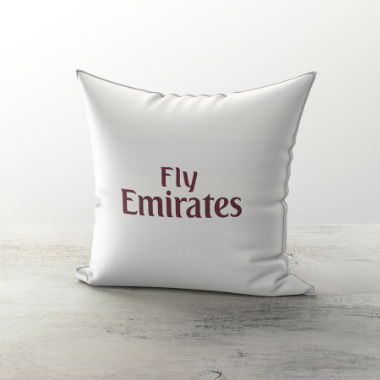 ARSENAL CUSHION 2007 AWAY - TheRetroHut