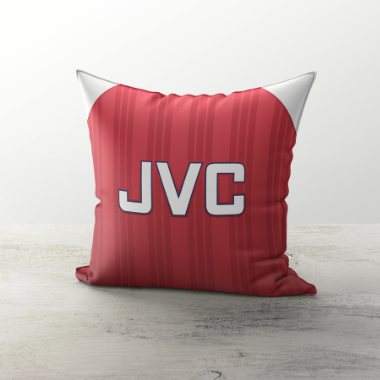 ARSENAL INSPIRED CUSHION 1992 HOME - TheRetroHut