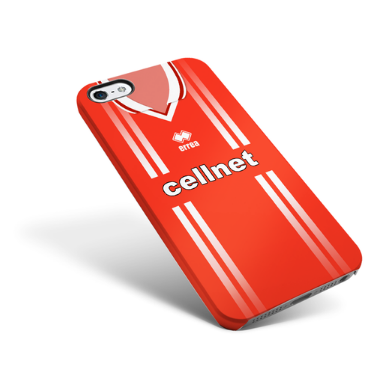 MIDDLESBROUGH PHONE CASE 1998 HOME