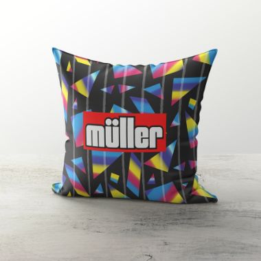 VILLA INSPIRED CUSHION 1993 GK - TheRetroHut