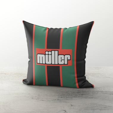 VILLA INSPIRED CUSHION 1994 AWAY - TheRetroHut