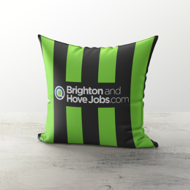 BRIGHTON INSPIRED CUSHION 2011 AWAY - TheRetroHut