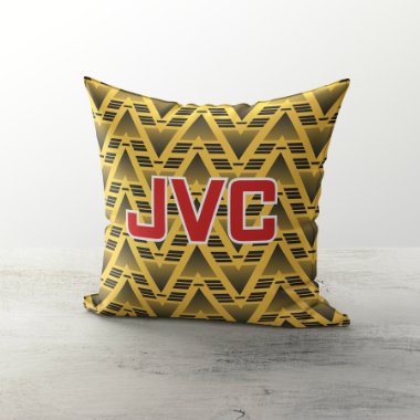 ARSENAL INSPIRED CUSHION 1991 AWAY - TheRetroHut