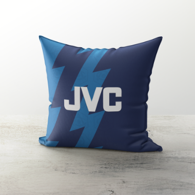 ARSENAL INSPIRED CUSHION 1995 AWAY - TheRetroHut