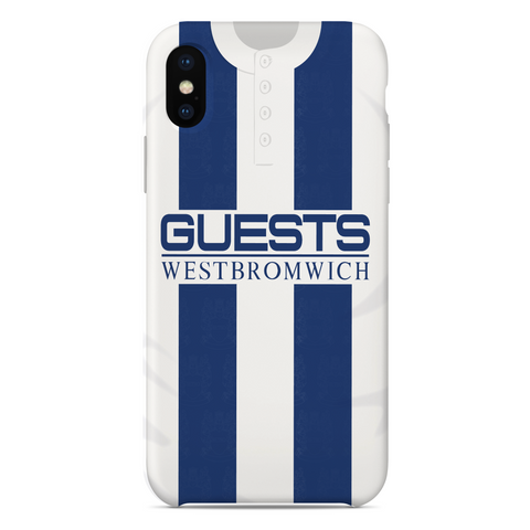 WEST BROMWICH ALBION 1996 HOME KIT RETRO PHONE CASE - TheRetroHut