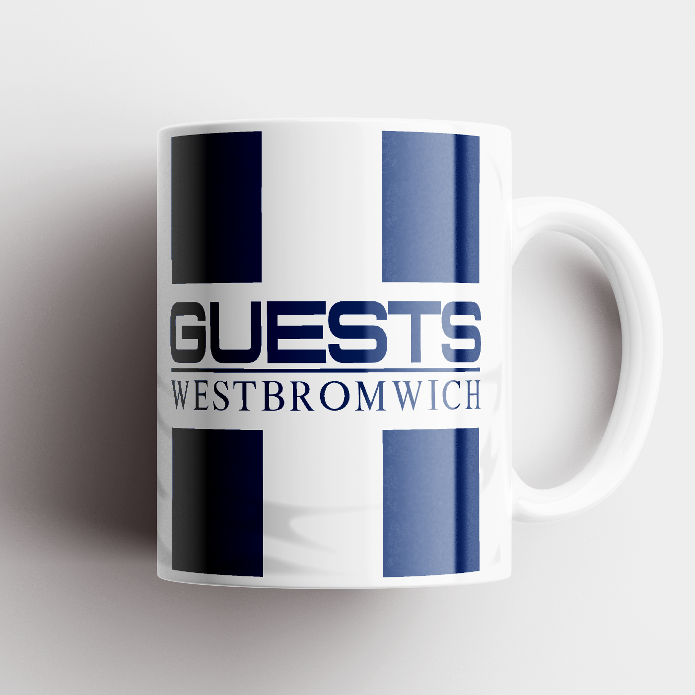 WEST BROM CERAMIC MUG 1996 HOME