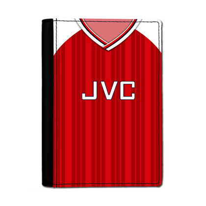 ARSENAL INSPIRED PASSPORT HOLDER 1992 HOME - TheRetroHut