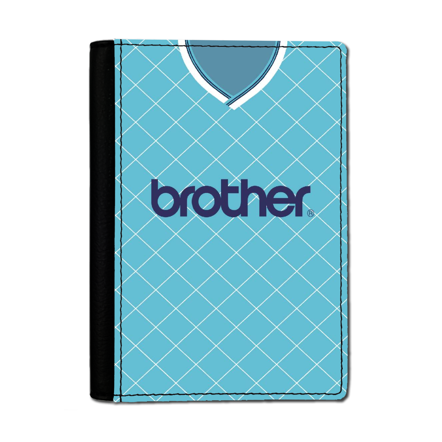MANCHESTER BLUE PASSPORT HOLDER 1987 HOME
