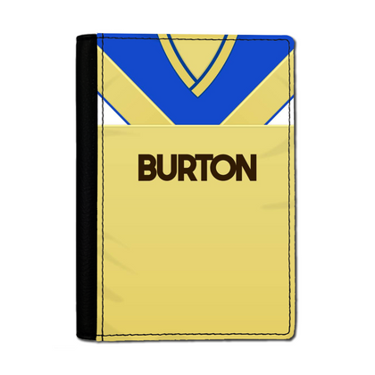 LEEDS PASSPORT HOLDER 1986 AWAY - TheRetroHut