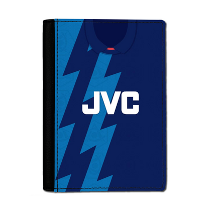 ARSENAL INSPIRED PASSPORT HOLDER 1995 AWAY - TheRetroHut