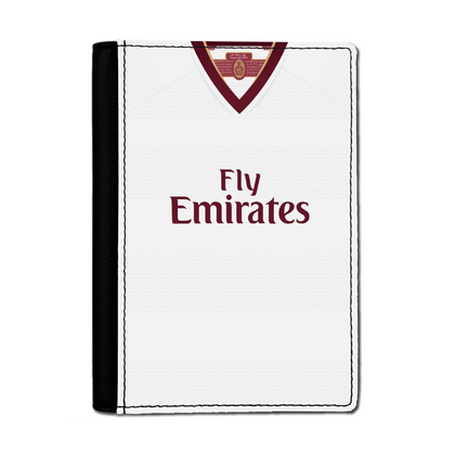 ARSENAL INSPIRED PASSPORT HOLDER 2007 AWAY - TheRetroHut