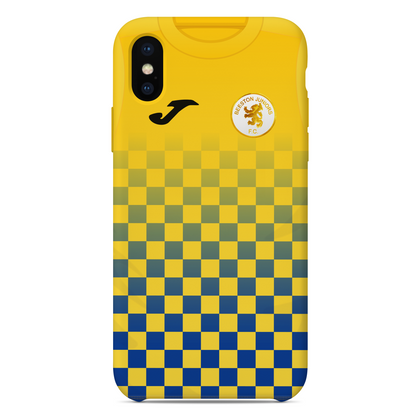 BEESTON JUNIORS OFFICIAL PHONE CASE BLUE/YELLOW NO SPOSNOR - TheRetroHut
