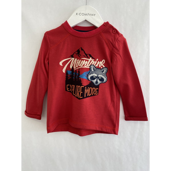MID Toddler Boy Explore Tee - Red