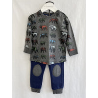 MID Baby Boy 2 pc. Set - Charcoal