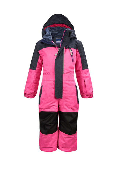 Killtec Kids One Piece Snowsuit - Neon Pink