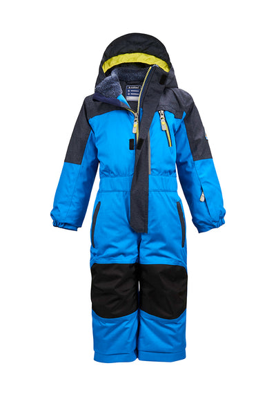 Killtec Kids One Piece Snowsuit - Neon Blue