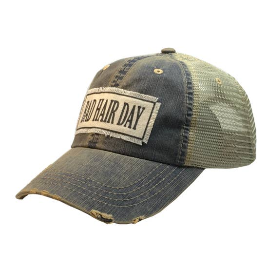 Vintage Cap - Bad Hair Day