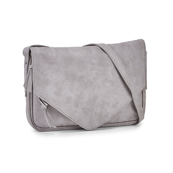 Co-Lab PVC Crossbody - Grey