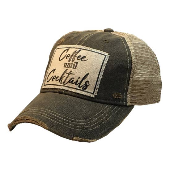 Vintage Cap - Coffee Until Cocktails