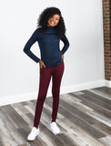 Jill Yoga  Jacket - Navy