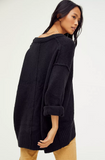Free People Brookside Tunic - Black