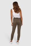 Lost in Lunar Suede Leggings - Khaki