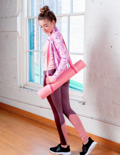 Jill Yoga Jacket - Purple