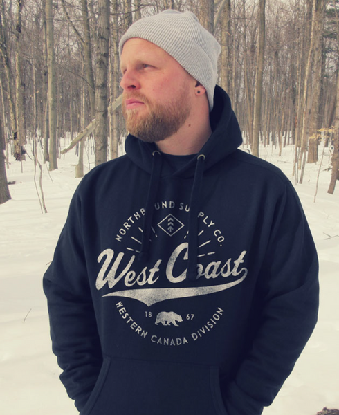 Northbound West Coast Hoodie - Black