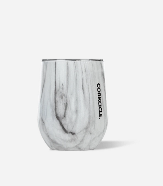 Corkcicle 12 oz. Stemless - Snowdrift