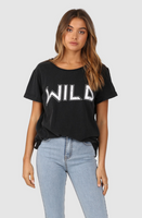 Lost in Lunar Wild Tee - Vintage Black Wash