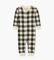 Little Blue House Infant Union Suit - Plaid