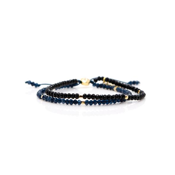 eLiasz and eLLa Panorama Bracelet - Deep Blue Grey