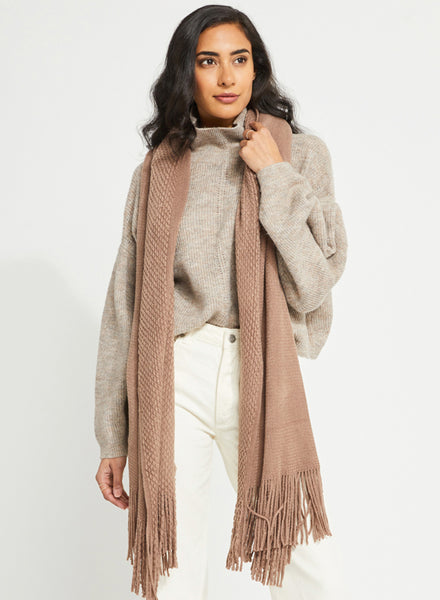 Gentle Fawn Travel Wrap - White