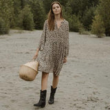 Jackson Rowe Malad Dress - Leopard