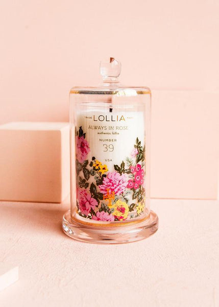 Lollia Always in Rose Candle