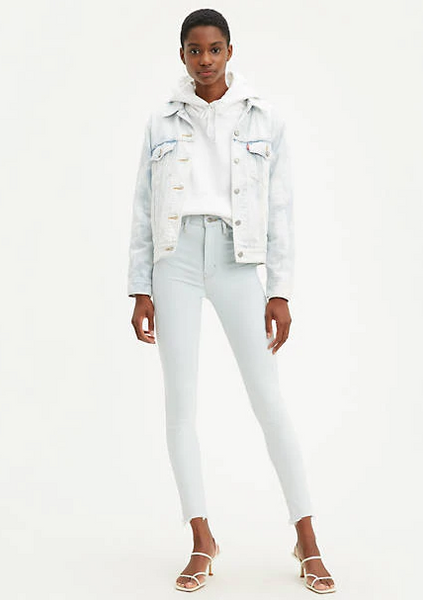 Levi's® Mile High Super Skinny - Super Light Wash