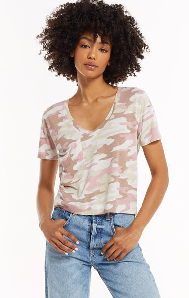 Z Supply Classic Skimmer Tee - Camo