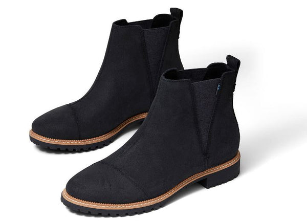 Toms Cleo Boots - Black