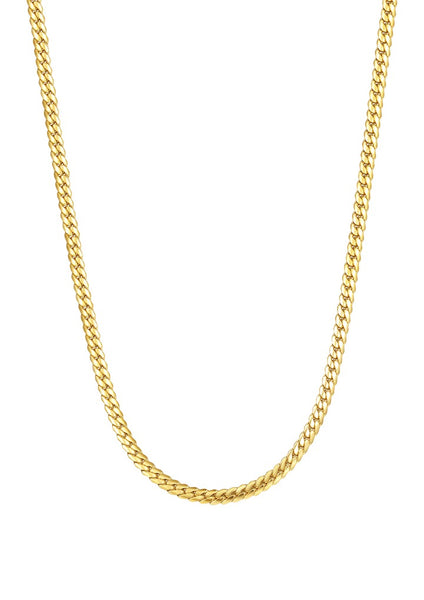 Happiness Boutique Cuban Link Chain Necklace - Gold