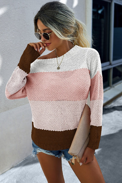 Neapolitan Loose Knit Sweater
