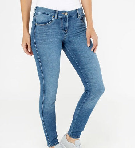Guess Jeans Power Curvy Mid Rodian Wash
