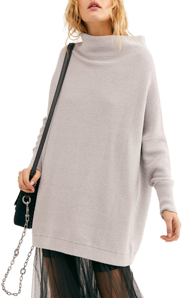 Free People Ottoman Tunic - Grey Ice