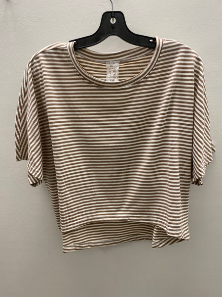 Sadie and Sage Island Life Stripe Crop