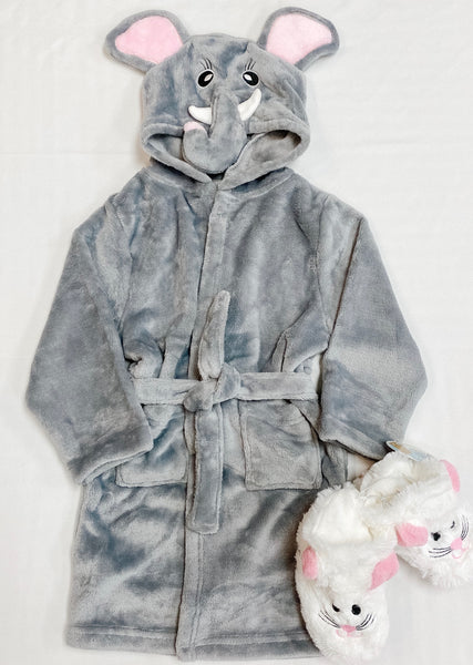 Children's Robe - Elephant