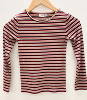 MID Kids Pink Striped Top